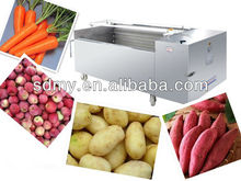 Stainless steel carrot Washing machine for vegetable washing machine
