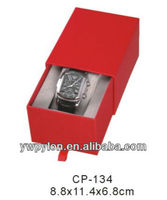 2014 Hot Sale Red like drawer seiko paper watch storage box made in china