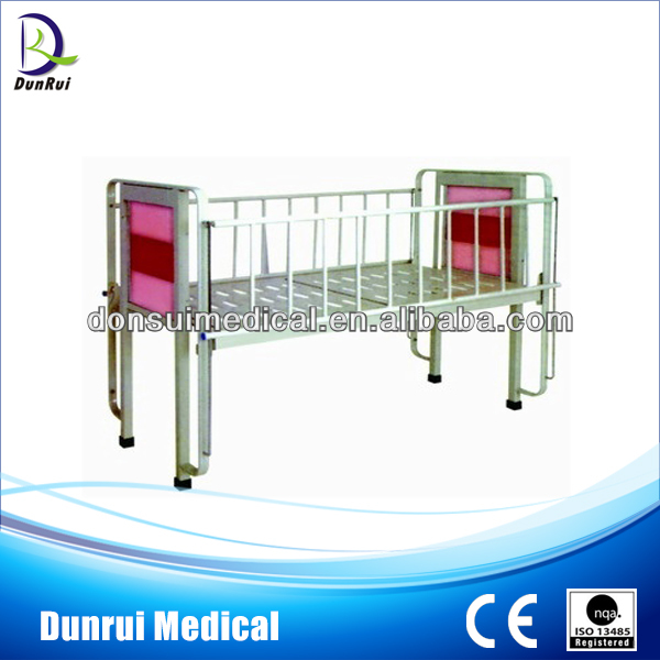 Foshan Manufacturer Flat Hospital Children Bed