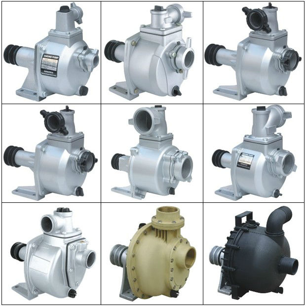 SU & NS series self-priming belt driven water pump
