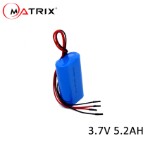 Hot selling product cheap date power 3.7V 5.2Ah li-ion battery pack