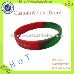 factory directly selling rubber band cheap silicone bracelet wristband