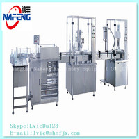 Automatic iv fluids filling production line and normal saline filling packing Line
