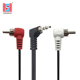 90 degree 3.5mm male to 2 rca mono audio av cable