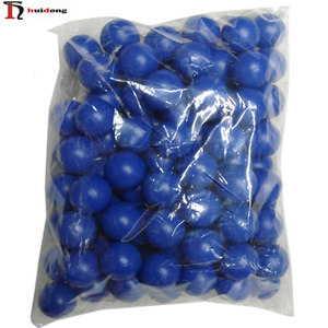 Wholesale Promotional 40mm Plastic Poly Beer pong games blue color Table Tennis ball ping pong Ball