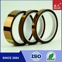"3"" Core, 1 mil Thick, 36 yd Length, 1"" Width Polyimide Adhesive Tape With ISO9001&14001 Certificates"