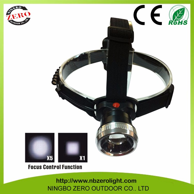Wholesale Factory Price Battery Powered Led Headlight