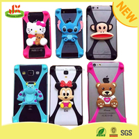 2015 popular universal bumper silicone 3d phone case