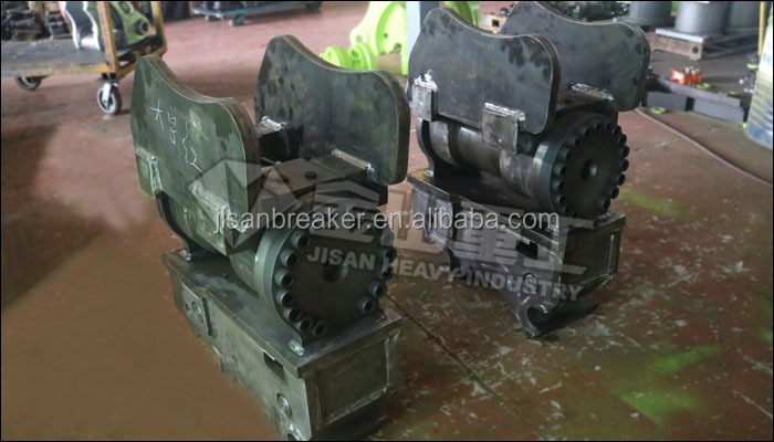 SK120 Excavator Rotating Hydraulic Tilt Quick Coupler Hitch