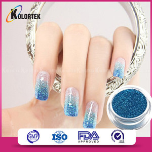 Wholesale bulk glitter pigment powder used for nail polish, nail art glitter for nail decoration