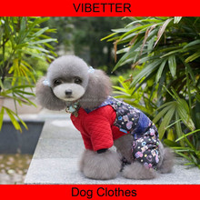 GYF-001 happy bear thick and warm winter summer coat High Quality China Largest Manufacturer Design Lovely Pet Clothes for Dog