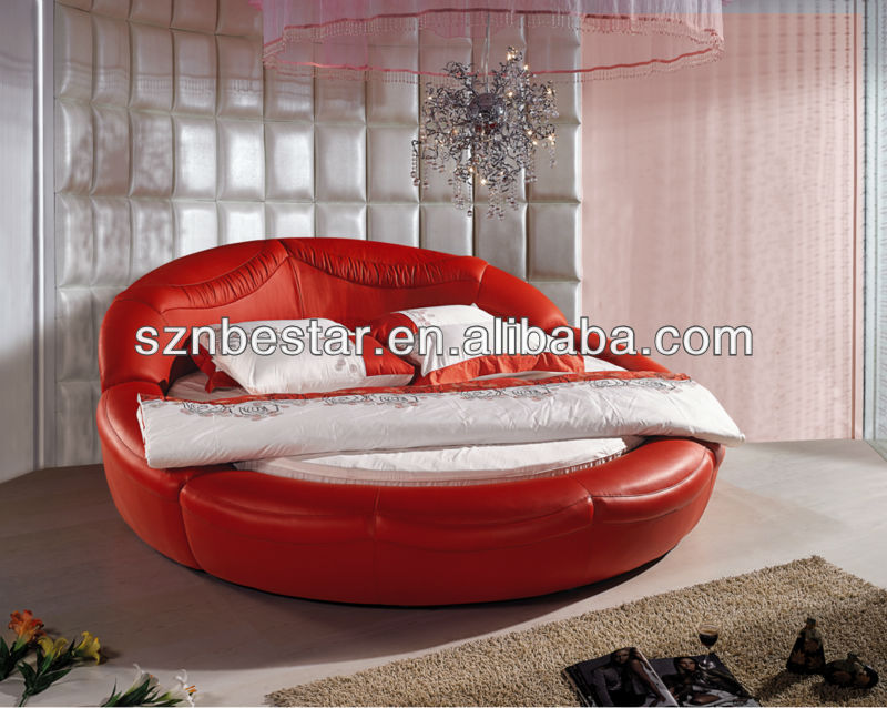 2013 modern round <strong>bed</strong> ,elegant design bedroom furniture