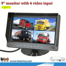good performance factory price 9 inch touch screen car headrest monitors for mining for mining