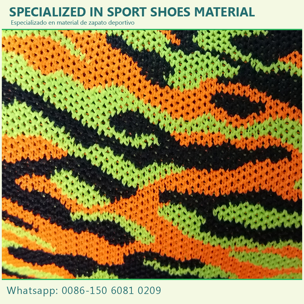 Best quality promotional mesh upper fly knit fabric material