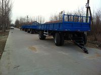 7CX - 4 farm tailer with CE certificate hydraulic offloading