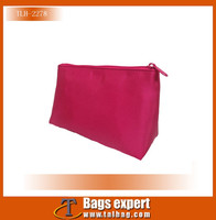 Stock Wholesale Waterproof Nylon small Cosmetic Bags for promotional use as gifts