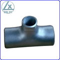 Butt welded reducing pipe tee,BW pipe tee,reducing pipe fittings