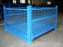 China non-store selling steel folding mesh container