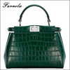 2017 Wholesale Cheap Fashion latest genuine leather bag saffiano lady handbag for wholesale