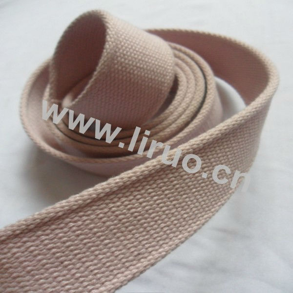 Woven Cotton Webbing Tape fo Belt