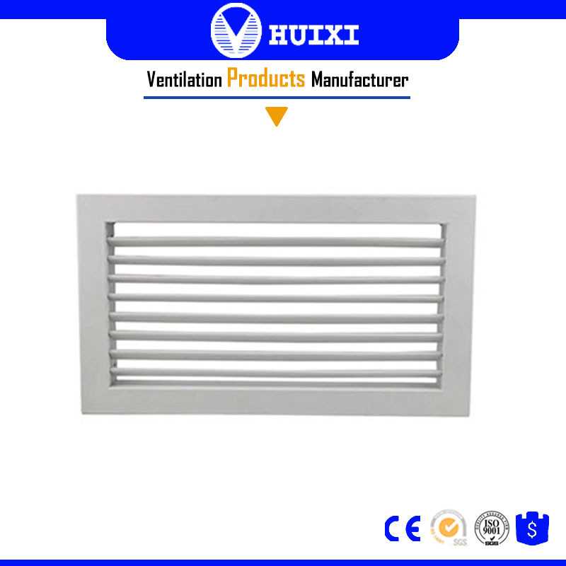 Central Air Conditioner Aluminum Deflector Air Inlet Single Grille