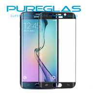 Pureglas Tempered Glass For Samsung Galaxy S6 Edge , Corning Gorilla Tempered Glass Screen Protector For S6 Edge