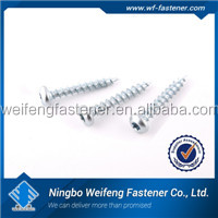 China manufacturers fastener 3mm self tapping screws with low price good quality indristual from zhejiang