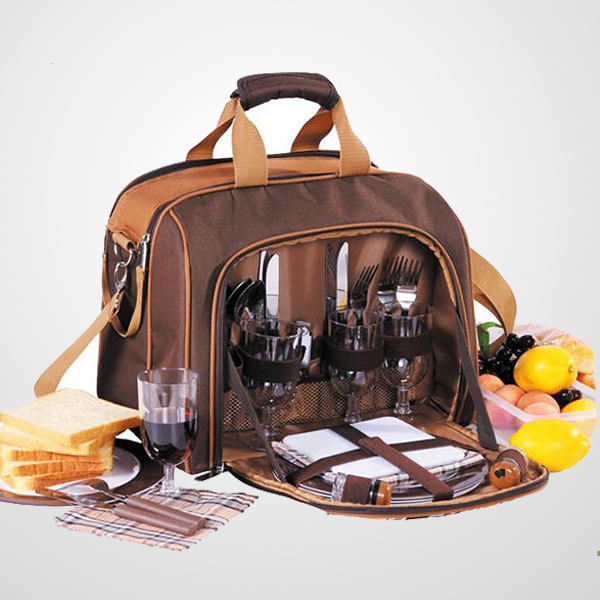 multifunctional 4 person picnic bag