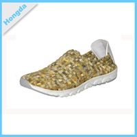 Latest design mens running shoes walking sport shoes