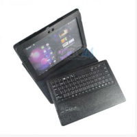 2014 New Product Wireless Bluetooth Keyboard Leather Case for Samsung Note 10.1 N8000 P-SAMN8000CASE008