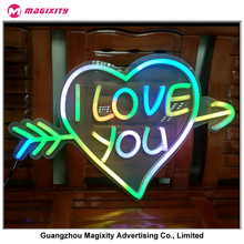 Most popular and good looking wedding party decoration lighted giant love lettering and beautiful giant love letters