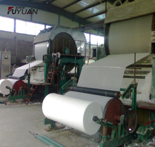 Raw material rice straw 787mm type toilet tissue paper rolling making machine for factory price
