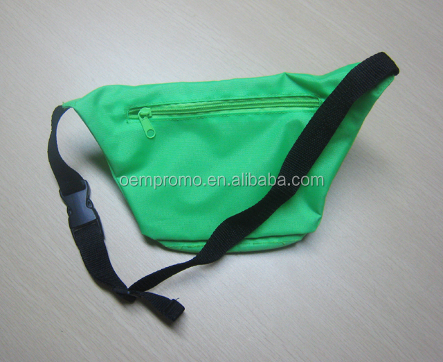 Custom made color sport waist bag fanny pack