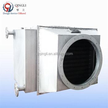 Stainless Steel exhaust gas heat recovery uint air economizer for boiler