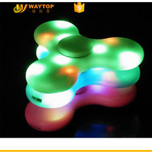 Hot Sale Music Bluetooth Speaker LED Lights hand Spinner Finger