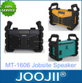 2017 outdoor USB SD battery powered worksite radio