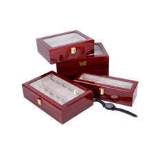 Wooden Watch Packaging Box Luxury Retail watch box