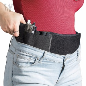 Professional Manufactory Neoprene Waist Band Belly Band Holster For Concealed Carry For Pistols Revolvers Glock Ruger Laser