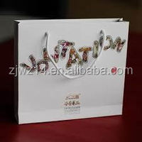 luminaries paper bags/ luxury printed paper bag/ gift shopping bag