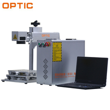 Hot optical mini optical steel laser engraving machine for metal and nonmetal with CE and FDA