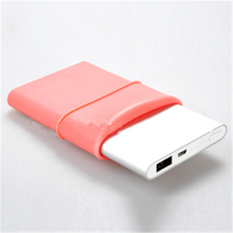 Wholesale Price Original Soft Silicone Power Bank Protective Cover Case Silicon Battery Case/Shell /Sleeve