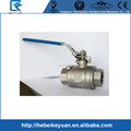 "2"" Heavy Type Full Port stainless steel 316 Ball Valve 2 Piece"