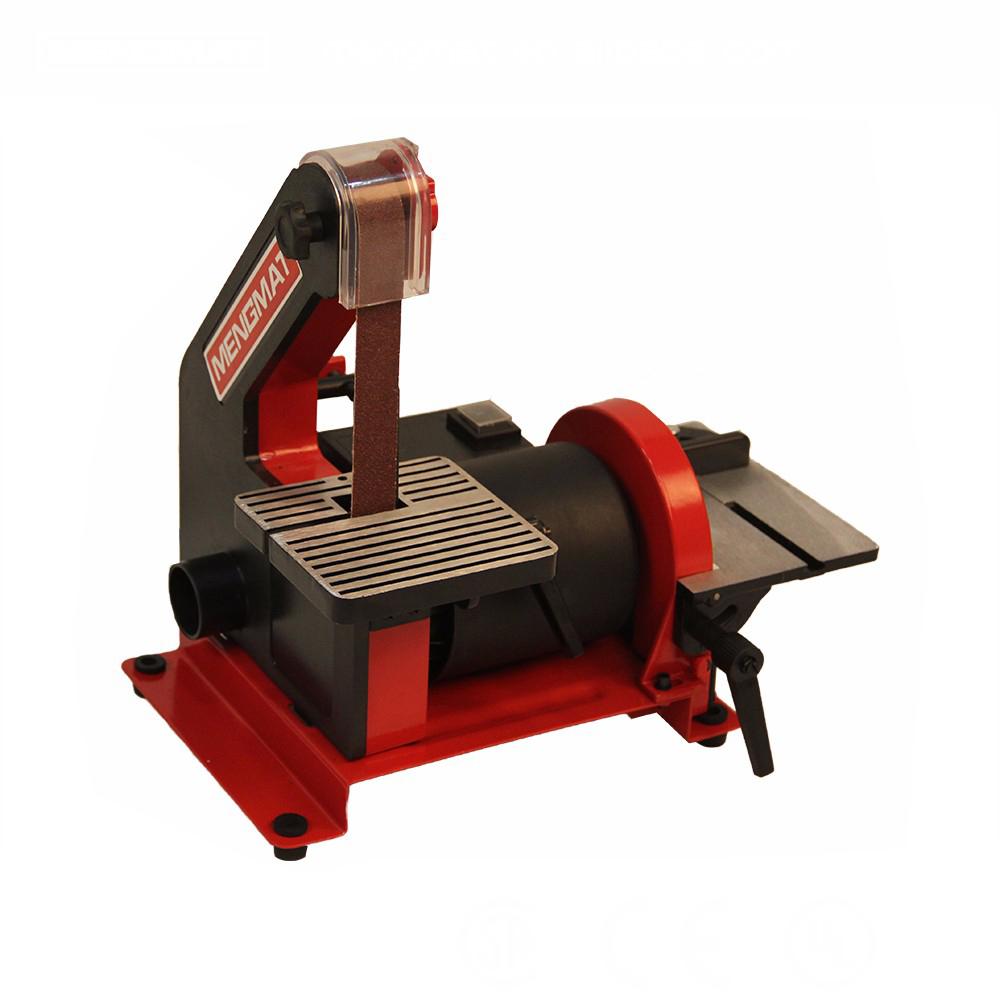 230V Electric 300W Carpenter Belt Disc Sanding Wood Metal Bench Sander Linisher