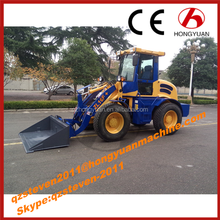 Hot sale Compact wheel loader, CE certificate, ZL16F with big tires
