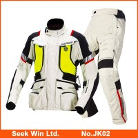 Heated Motorcycle Jacket And Pants Motocross Racing Suit Motorcycle Pants Waterproof Motorbike Motorcycle Suits