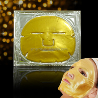 Private label Anti Aging Gold Facial Mask Cosmetics Manufacturer Best Collagen Crystal face mask making machine