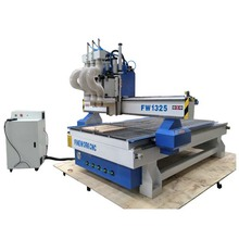 FW1325 three heads cnc wood engraving machine auto tool change cnc router