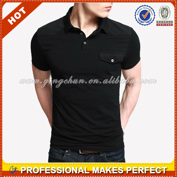 Wholesale mens blank polo shirt made in china(YCP-B0040)