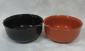 6''stock flanging color glazed ceramic deep bowl
