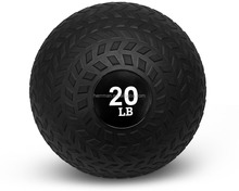 (HERRMAN)Slam Ball Medicine Ball - Black Tyre Surface
